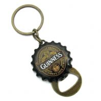 Guinness Classic 1759 Collection Crown Cap Flip Bottle Opener Keyring  5612